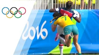 Download Top 10 Women's rugby tackles | Top Moments Video