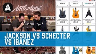 Download Shopping for a Mid-Price Shred Machine! - Jackson vs Schecter vs Ibanez Video