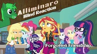 Download [Blind Reaction] My Little Pony: Equestria Girls ″Forgotten Friendship″ Video