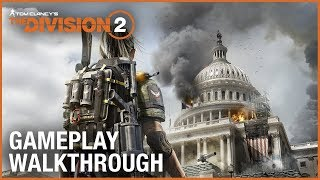 Download Tom Clancy's The Division 2: E3 2018 World Premiere Gameplay Walkthrough Trailer | Ubisoft [NA] Video