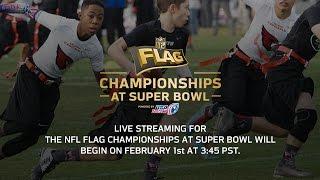 Download 2015 NFL FLAG CHAMPIONSHIPS AT SUPER BOWL (13-14 Boys Div.): Saints vs. Panthers Video