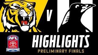 Download Richmond v Collingwood Highlights | Preliminary Final, 2018 | AFL Video