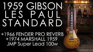 Download ″Pick of the Day″ - 1959 Gibson Les Paul Std w/1966 Fender Pro Reverb + 1974 Marshall Super Lead Video