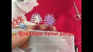 Download Renk renk yapılan iğne oyası modeli /hand work needle lace Video