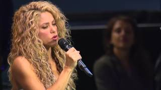Download Shakira sings 'Imagine' at the United Nations | UNICEF Video