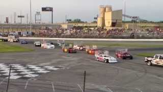 Download sportsdrome speedway extreme wing figure 8 triple 25 first race awesome run Video