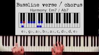 Download How to play: I Wish - Stevie Wonder. Original Piano lesson. Tutorial by Piano Couture. Video