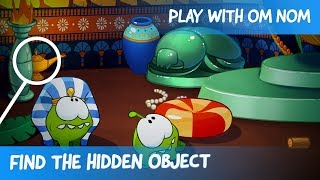 Download Find the Hidden Object - Om Nom Stories: Ancient Egypt (Cartoons for children) Video