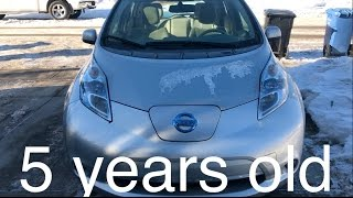 Download Nissan Leaf 5 year review Video