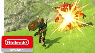 Download The Legend of Zelda: Breath of the Wild - Exploration Gameplay - Nintendo E3 2016 Video