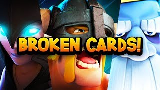 Download Top 7 Most GAME BREAKING Cards in Clash Royale History! Video
