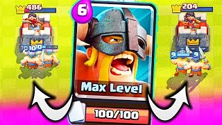 Download ELITE BARBARIANS! • Clash Royale NEW CARD Video