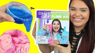 Download KARINA GARCIA'S DIY SLIME KIT! Slushee Slime, Crunchy Slime, Glow in The Dark & More! Video