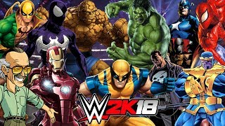 Download MARVEL | Royal Rumble WWE 2K18 Gameplay Video