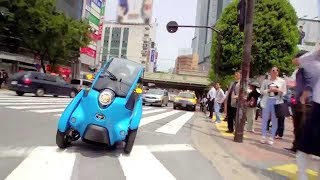 Download TOYOTA i-ROAD test driving in Tokyo w/字幕 (2m10s) Video