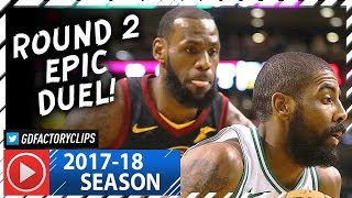 Download Kyrie Irving vs LeBron James ROUND 2 Duel Highlights (2018.01.03) Celtics vs Cavaliers - TOO SICK! Video