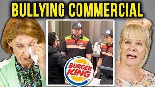 Download ELDERS REACT TO BULLYING (Burger King   Bullying Jr.) Video