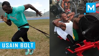 Download Usain Bolt Strength and Conditioning Training | Muscle Madness Video