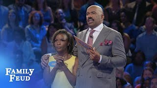 Download Can LUCY and DAVID get LUCKY? | Family Feud Video