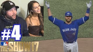 Download PLAYING LAUREN! | MLB The Show 17 | Retro Mode #4 Video