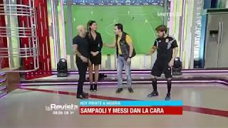 Download Humor: Sampaoli y Messi están muy motivados para el partido contra Nigeria Video