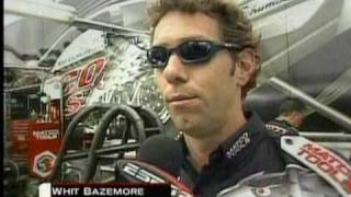 Download John Force Whit Bazemore Tempers Flair Drag Racing anger Video
