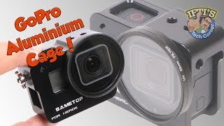 Download SameTop Aluminium Cage with 52mm Filter for GoPro Hero 5 Black! Video