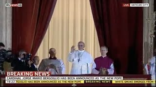 Download Habemus Papam! Pope Francis election on Sky News Video