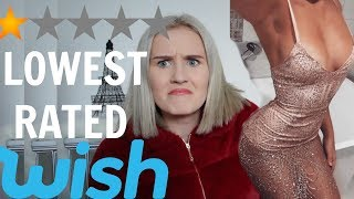 Download I BOUGHT THE LOWEST RATED ITEMS ON WISH Video