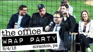 Download 'THE OFFICE' Wrap Party Farewell Celebration: PNC Field, Scranton 5/4/2013 - FULL CELEBRATION in HD Video