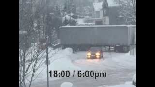 Download TRUCKS on a HILL - How an icy hill ruins a German trucker's day......... Video