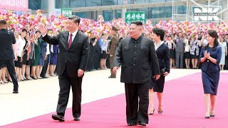 Download Chinese President Xi Jinping demonstrates strong alliance with N. Korea during his summit with Kim Video