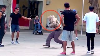 Download Old Man Dances In Public Prank! Video