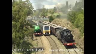 Download ″Parallel Parades″ - Steam Locomotives running parallel Video