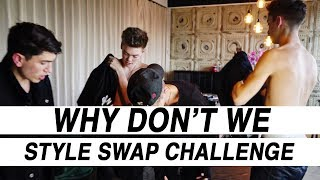 Download WHY DON'T WE SWAP CLOTHES IN THE STYLE SWAP CHALLENGE! Video