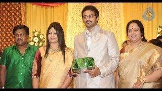 Download Tamil Celebrities at Ramarajan and Nalini's Son Arun Wedding Reception | Vaiyapuri, Delhi Ganesh Video