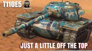 Download T110E5 Just a Little off the Top World of Tanks Blitz Video