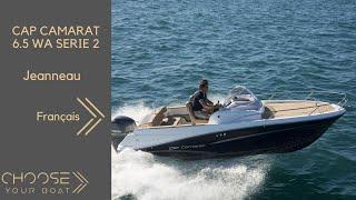 Download Jeanneau Cap Camarat 6.5 WA serie 2 Video