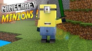 Download DES MINIONS SUPER EFFICACES ! | Présentation du NO mod ″MINIONS″! - [1.8] Video
