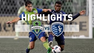 Download Highlights: Seattle Sounders FC vs Sporting Kansas City | 2016 MLS Cup Playoffs | October 27, 2016 Video