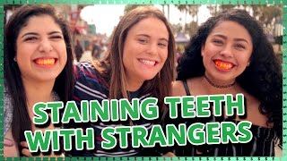 Download Strangers Staining Teeth Challenge | Do It For The Dough w/ Ayydubs and Hunter March Video