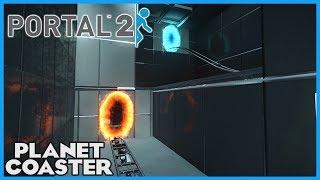 Download PORTAL 2 COASTER! Story Re-creation! Coaster Spotlight 212 #PlanetCoaster Video