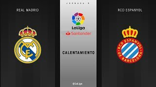 Download Calentamiento Real Madrid vs RCD Espanyol Video