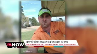 Download Metro Detroit business owner loses Lions season tickets after racist post Video