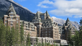 Download Inside the world-famous FAIRMONT BANFF SPRINGS HOTEL (Canada): impressions & review Video