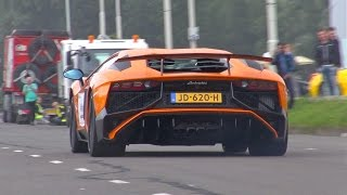 Download Supercars Accelerating LOUD! Aventador LP750 SV, Corvette, Huracan.. Video
