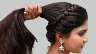 Download Easy Wedding Hairstyles | Puff Hairstyles | hair style girl || easy hairstyles 2018 | New hairstyles Video