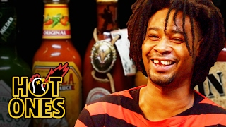 Download Danny Brown Has An Orgasm Eating Spicy Wings | Hot Ones Video