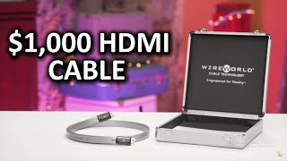 Download $1,000 HDMI Cable!? - Useless Tech Over $100 Ep. 1 Video