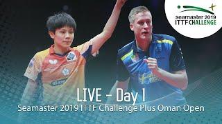 Download Seamaster 2019 ITTF Challenge Plus Oman Open | Day 1 Video